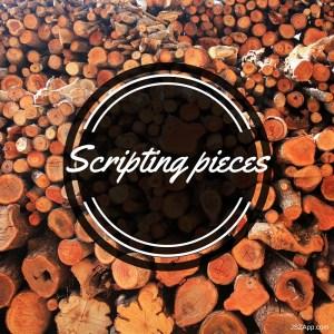 Autohotkey Scripting word peices