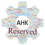 AutoHotkey Scripting: Reserved keywords