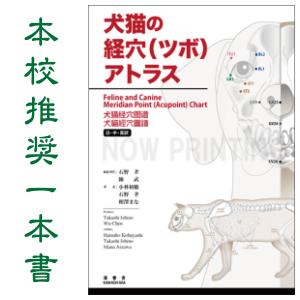 犬猫の経穴(ツボ)アトラス|JTCVM国際中獣医学院日本校