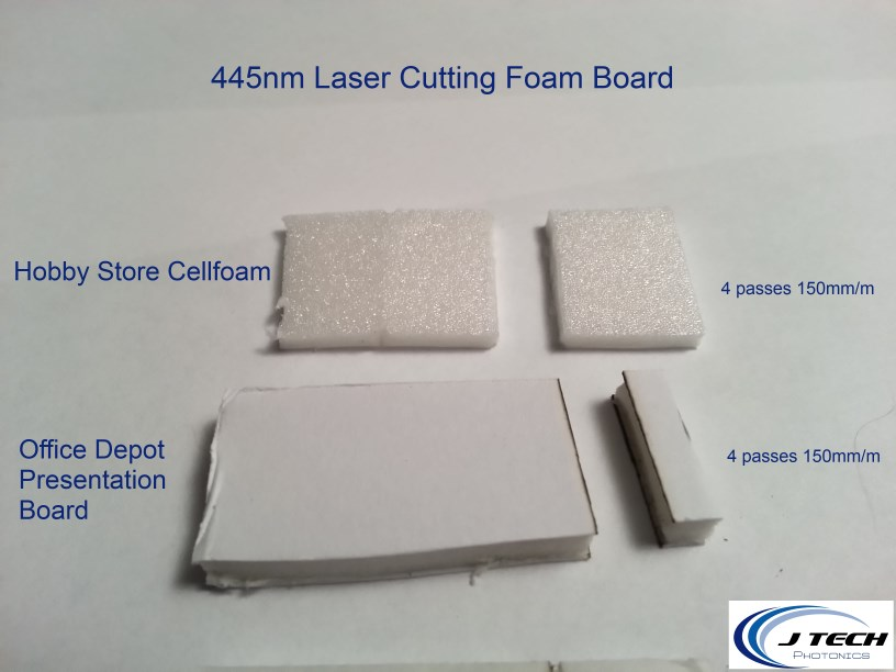 cutting 1 8 and 3 16 foam board with