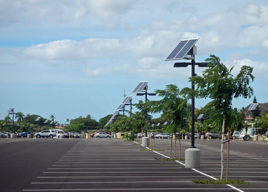 iluminacion de estacionamiento electricista