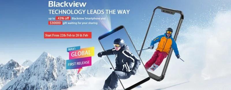Les nouveaux modèles de téléphones robustes Blackview seront 5G voir plus et visent à révolutionner le MWC 2019