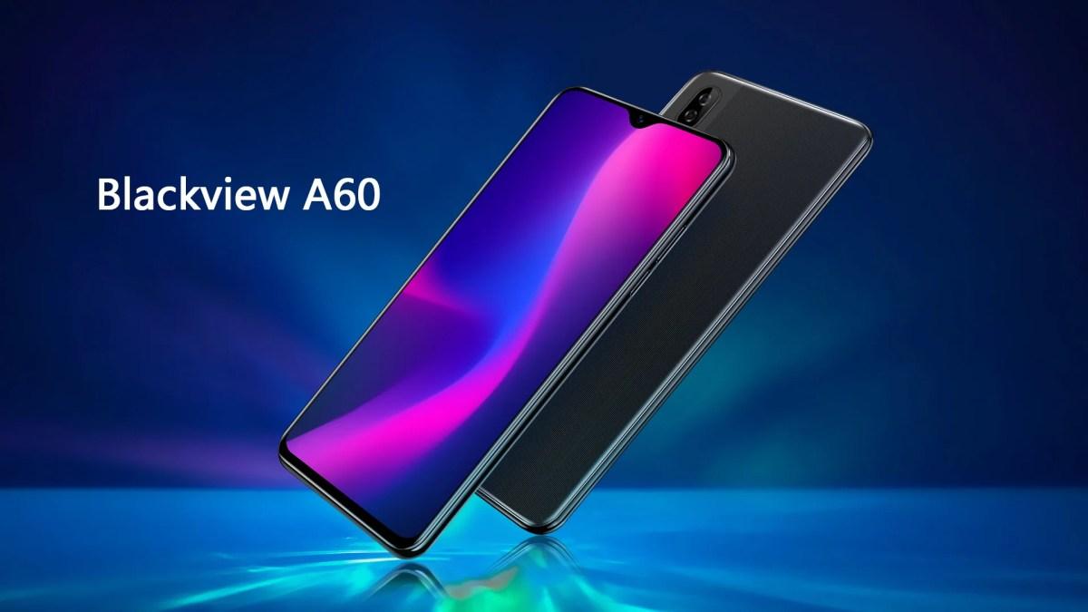 Nouveau smartphone à petit Budget, le Blackview A60 fait ses débuts avec une encoche Water-Drop