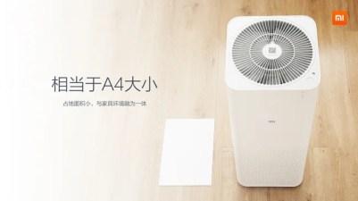 Taille xiaomi air purifier