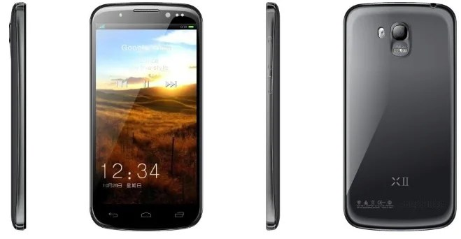 smartphone android umi x2 carbone