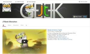 Youtube jt geek 15047