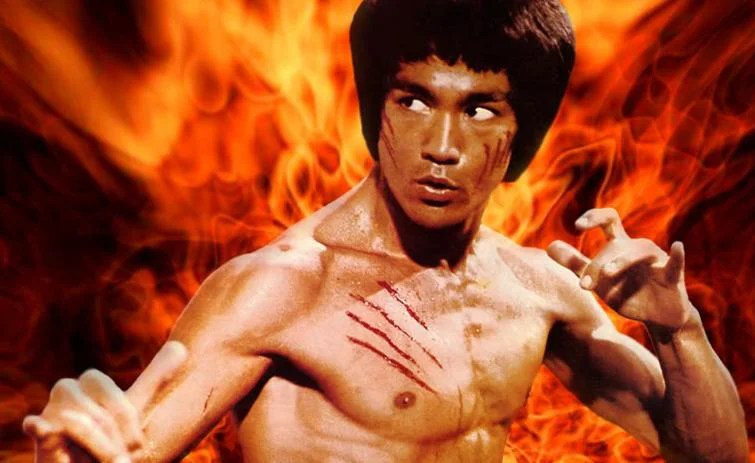 photo de bruce lee dans operation dragon