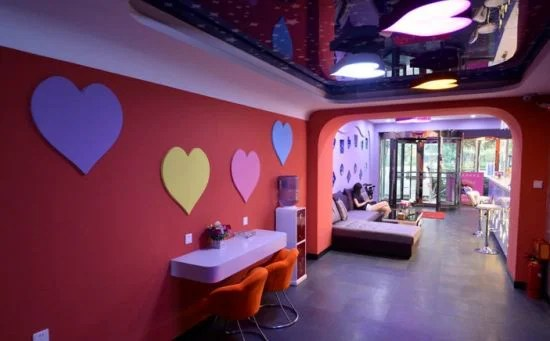 hotel de l'amour à shanxi