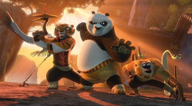 combat kung fu panda