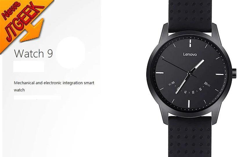 Lenovo Watch 9: Lenovo joue la montreconnectée à 17.40€ soit -54% !