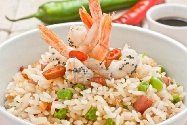 recette entrée salade de riz à la chinoise