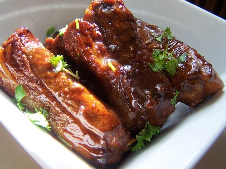recette de travers de porc sauce aigre-douce