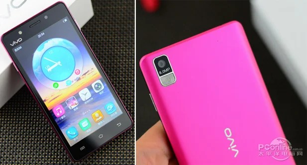 smartphone android rose vivo y19t