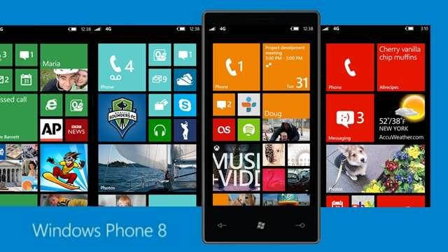 smartphones sous wp8