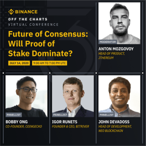 "Binance Off The Charts ""Future of Consenus"""