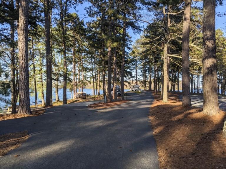 Sawnee campground sites