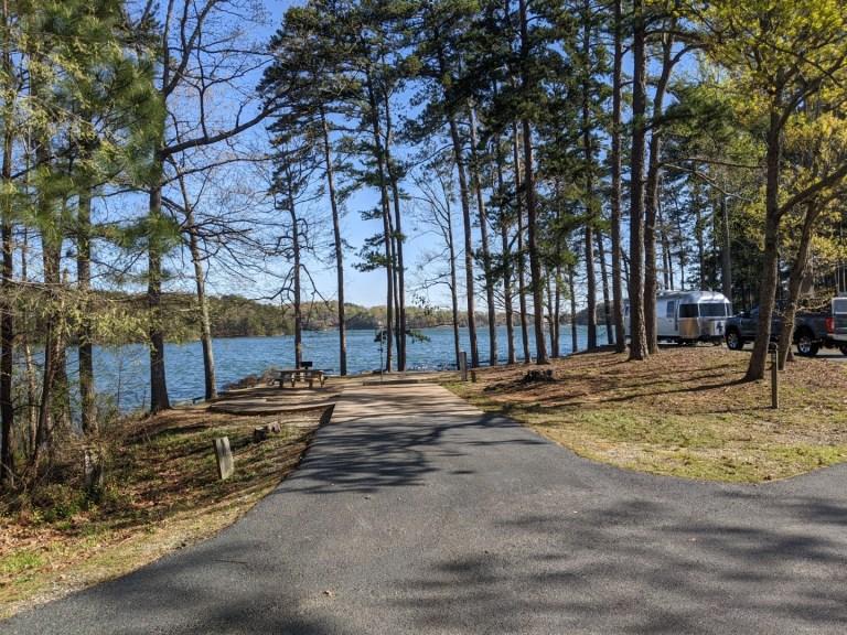 Sawnee campground site 24