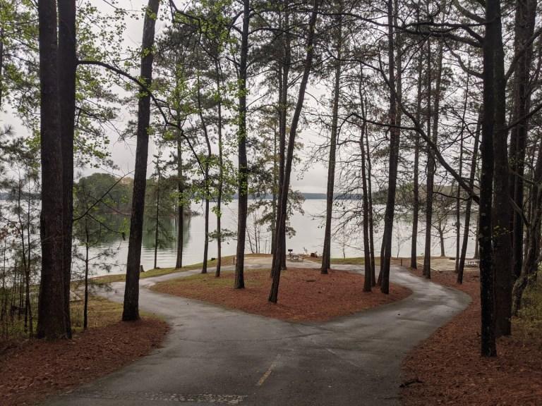 Sawnee campground walk-in sites