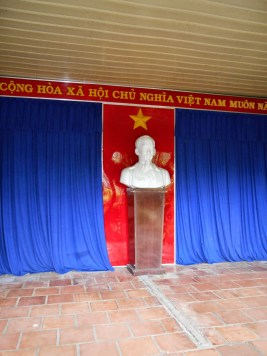 Monument to Ho Chi Minh at the