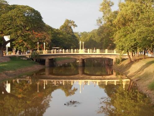 Siem Reap bridge, Cambodia