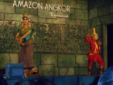 Aspara Khmer dance in Siem Reap, Cambodia