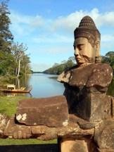 Statue at Angkor Thom
