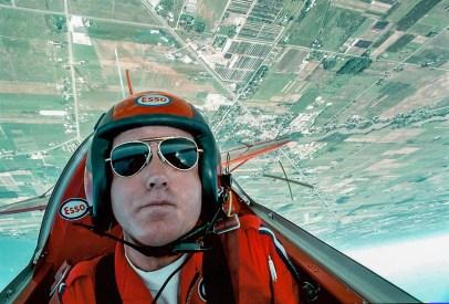 Editorial - Aerial acrobatics with Bill Carter.