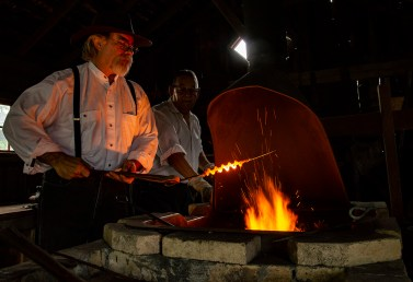 Editorial - Blacksmith in action.