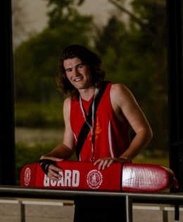 Editorial - Lifeguard portrait.