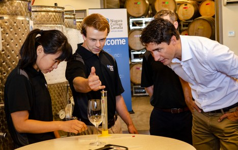 Editorial - Prime Minister visits Niagara College.