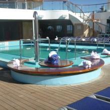 Carnival Conquest - Towel Animals - Main Pool