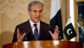 Newark, FM Shah Mehmood Qurashi Talks With Media