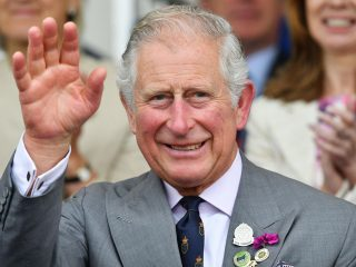 Lodon, Prince-Charles Shaking Hands to their Followers
