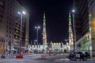 Madina Munwara, Sharine Of Prophet Muhammad SAWW beautiful View.