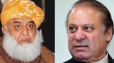 Nawaz Sharif and Fazalur Rehman