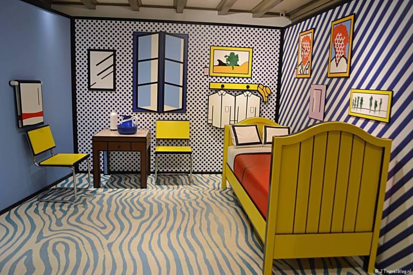 3D interior room van Roy Lichtenstein