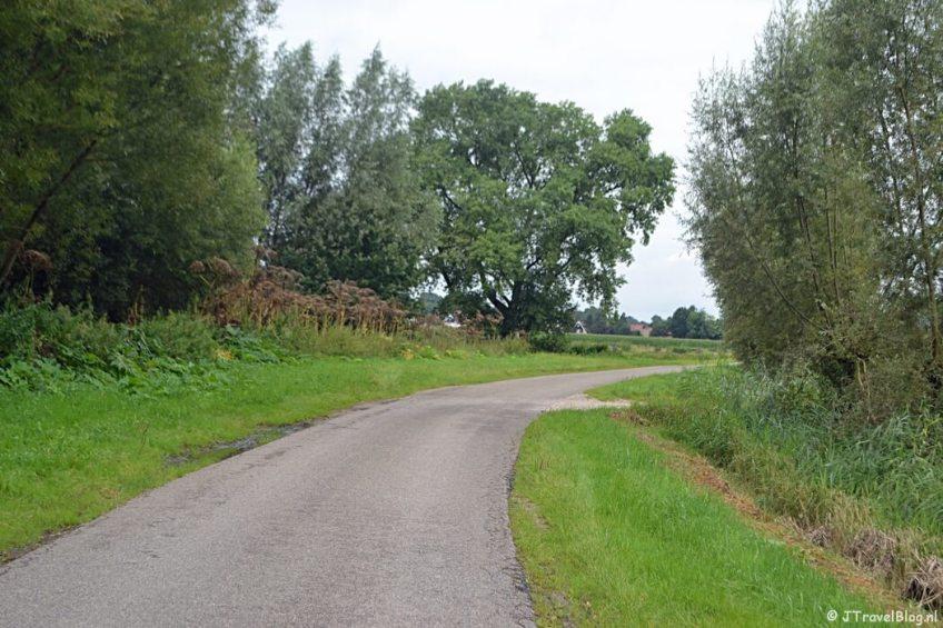 Het Breemeentje net buiten Baarn tijdens de 8e etappe van het Westerborkpad