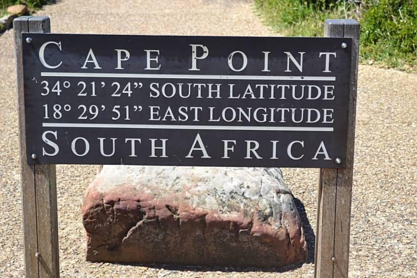 Capepoint op het Kaapse Schiereiland in Zuid-Afrika