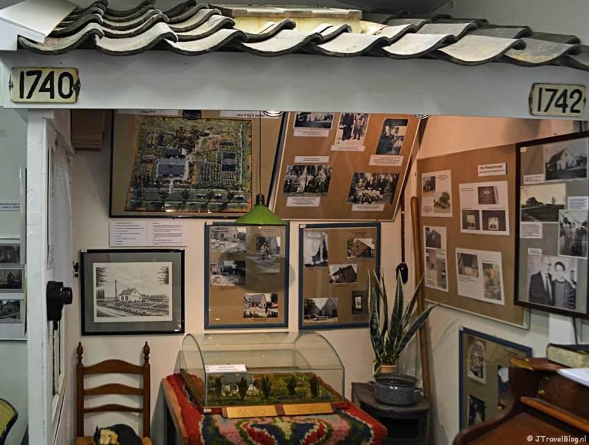 Het Breijer huisje in het CRASH Luchtoorlog & Verzetsmuseum '40-'45 in Aalsmeerderbrug