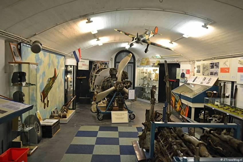De Henk Rebel Hal in het CRASH Luchtoorlog- & Verzetsmuseum '40-'45 in Aalsmeerderbrug
