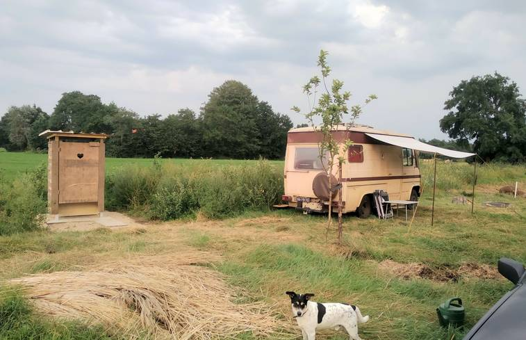 Camper in Boerakker/Groningen via Natuurhuisje.nl