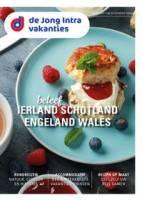 Gratis de Ierland, Schotland, Engeland en Wales reisgids bestellen bij De Jong Intra