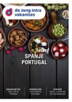Gratis de Spanje/Portugal reisgids bestellen bij De Jong Intra Vakanties