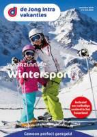 Gratis de wintersport reisgids bestellen bij De Jong Intra Vakanties