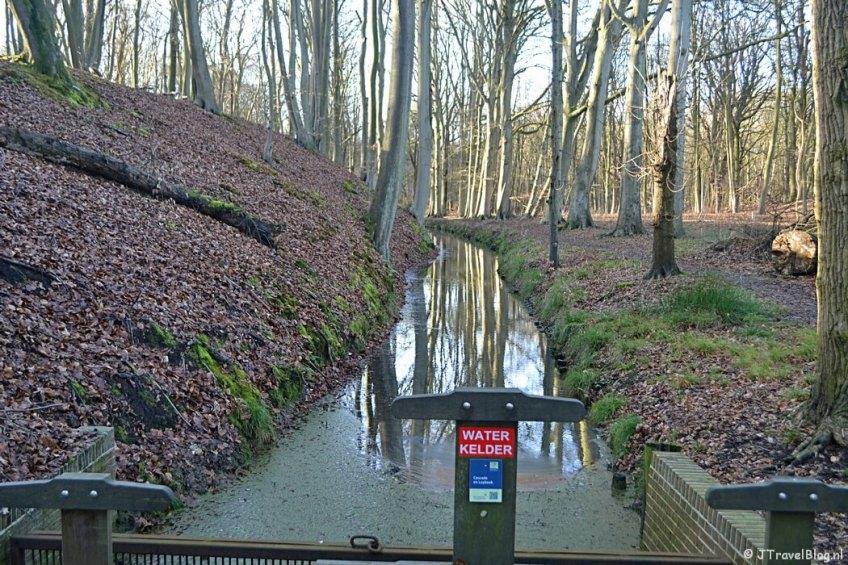De Leybeek op Buitenplaats Leyduin in Vogelenzang