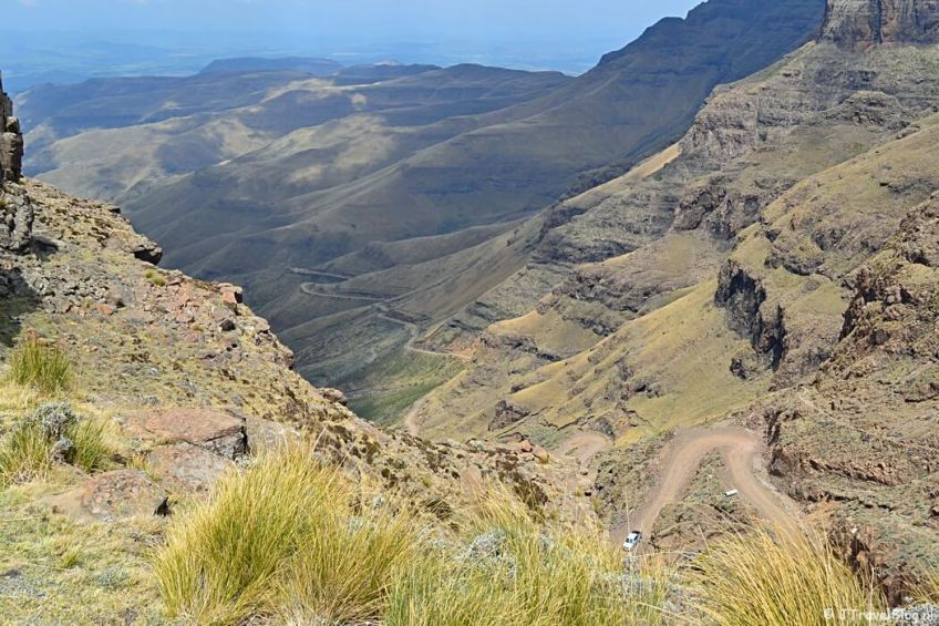 De Sani Pass in Zuid-Afrika