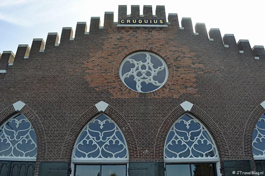 De voorkant van het Cruquius Museum