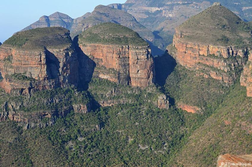 De Drie Rondavels aan de Panoramaroute in Zuid-Afrika