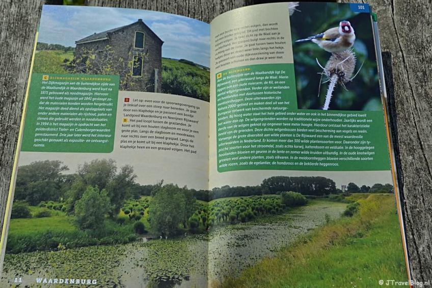 Een voorbeeld van een wandeling in de wandelgids Wandelgids 'De mooiste kasteelwandelingen in Gelderland' van Uitgeverij Gegarandeerd Onregelmatig