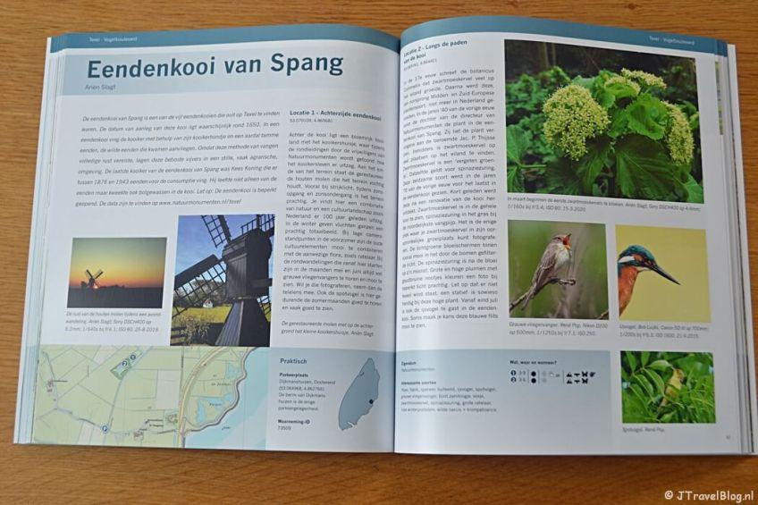 Eendenkooi van Spang in het boek 'De mooiste fotolocaties van Texel'